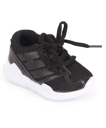 Cute Walk by Babyhug Sports Shoes - Black