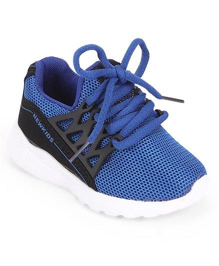 Cute Walk by Babyhug Sports Shoes - Royal Blue