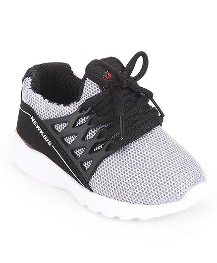 Cute Walk by Babyhug Sports Shoes - Grey