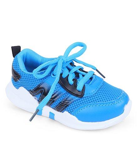 Cute Walk by Babyhug Sports Shoes - Sky Blue