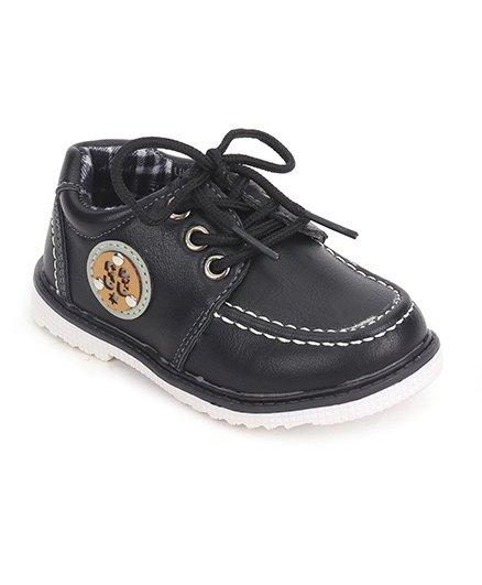 Cute Walk by Babyhug Party Wear Shoes - Black
