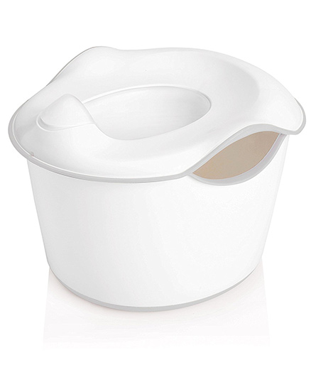 Ubbi 3 in 1 Potty Seat - Off White & Grey