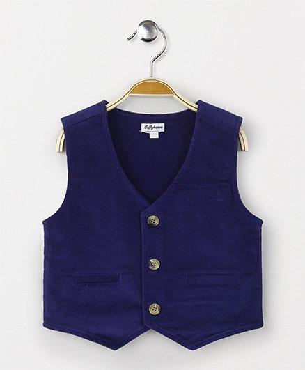ToffyHouse Corduroy Waistcoat - Purple