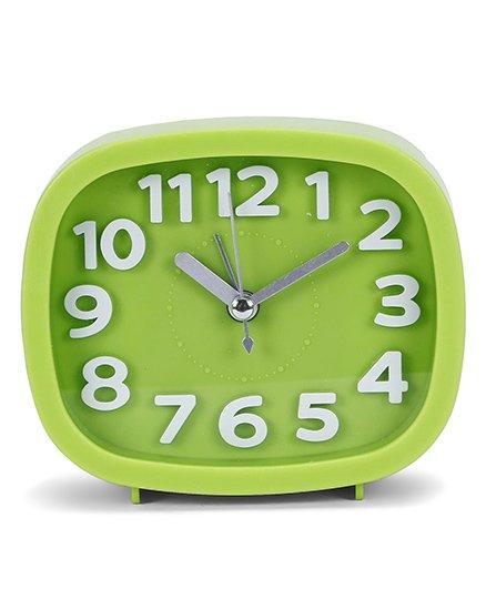 Square Shape Clock - Green
