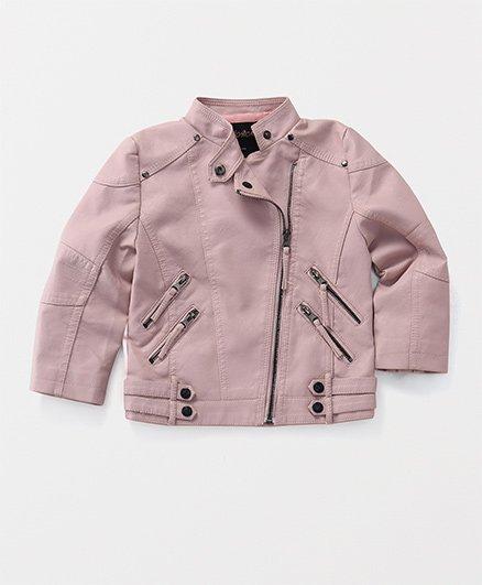 TBB Zippered Jacket - Pink