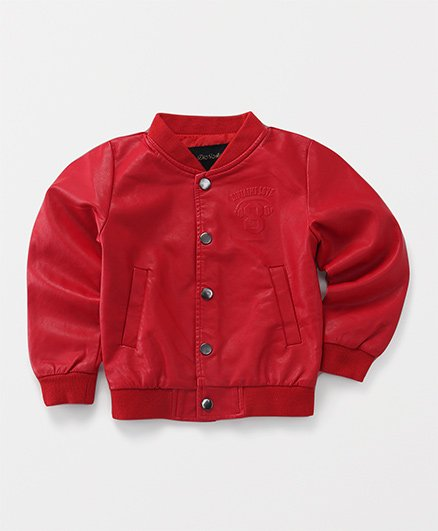 YiYi Garden Love Print Jacket - Red