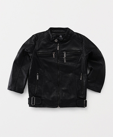 TBB Zippered Jacket - Black