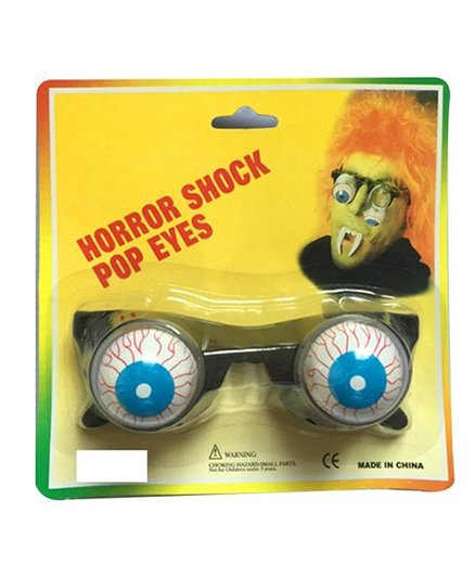 Wanna Party Horror Shock Popping Eye Glasses