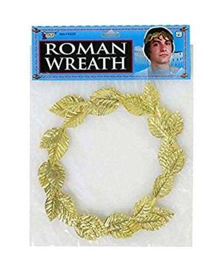 Wanna Party Roman Wreath Headband - Golden