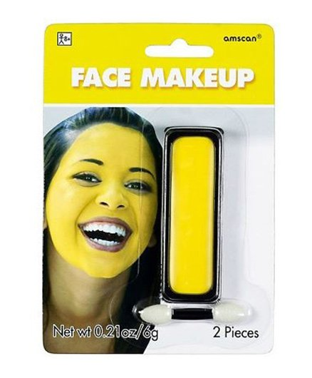 Wanna Party Face Paint Yellow - 6 grams
