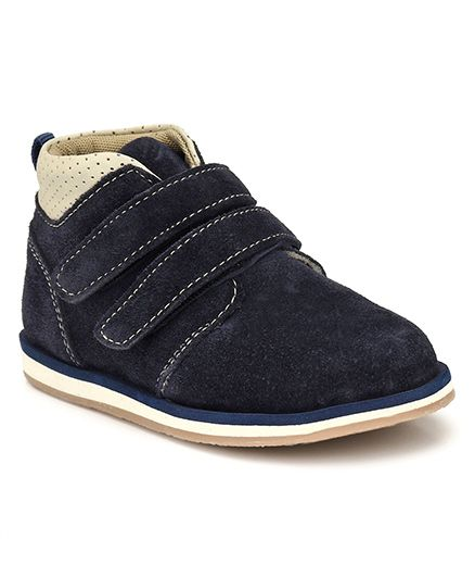 Tuskey High Ankle Casual Shoes - Black