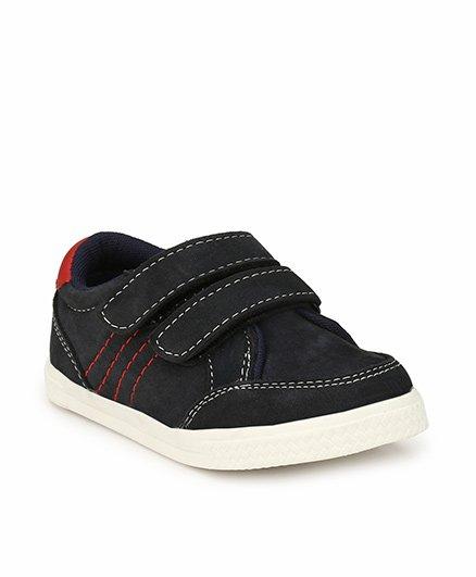 Tuskey Velcro Closure Casual Shoes - Black