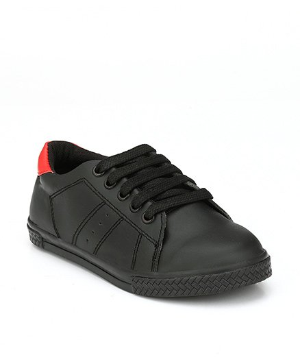 Tuskey Lace-up Casual Shoes - Black