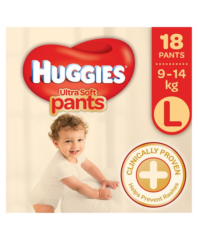 Huggies Ultra Soft Pants Large Size - 18 Pieces