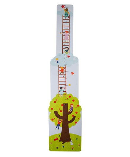 Babies Bloom Kiddy Land Growth Chart - Multicolor
