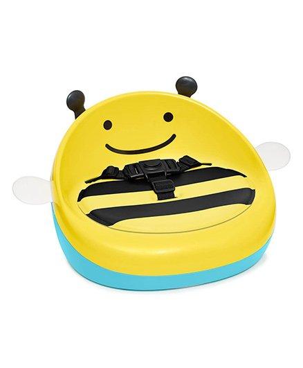 Skip Hop Zoo Booster Seat Bee Print - Yellow Black