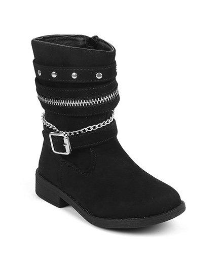 Kittens Classy Boots - Black
