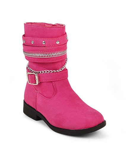 Kittens Classy Boots - Pink