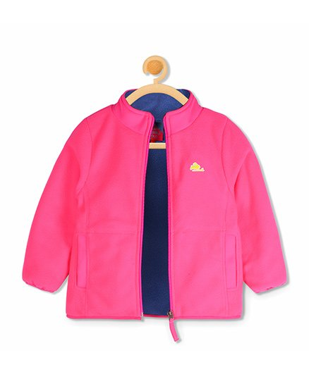 Cherry Crumble California Snug Sweat Jacket - Pink