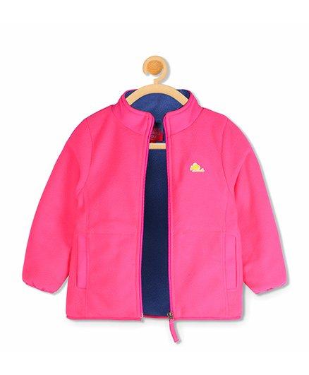 Cherry Crumble California Snug Sweat Jacket - Pink