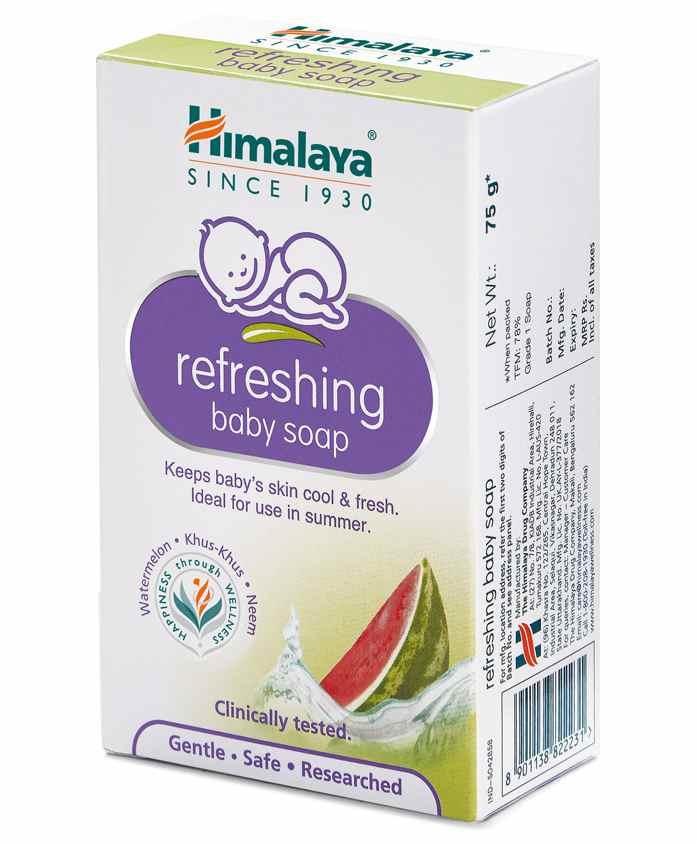 Himalaya Refreshing Baby Soap, 75 gm