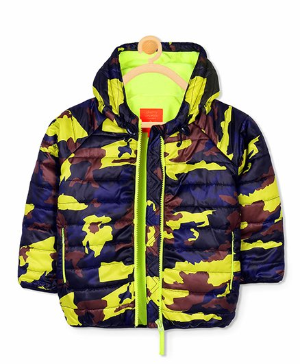 Cherry Crumble California Camper Camo Jacket - Multicolor