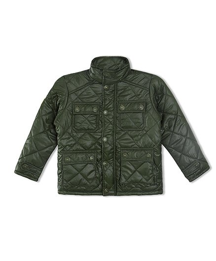 Cherry Crumble California Premiuim Lightweight Barn Jacket - Olive Green