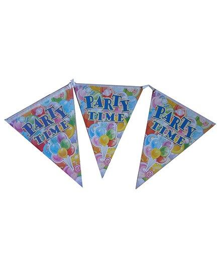 ShopAParty Party Time Banner - Multicolour