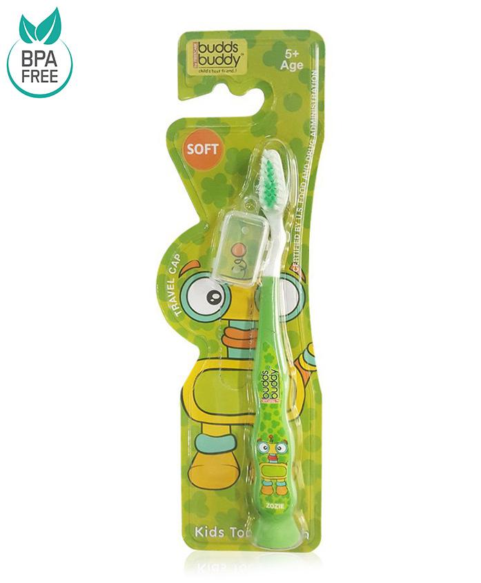 Buddsbuddy Zozie Design Tooth Brush - Green