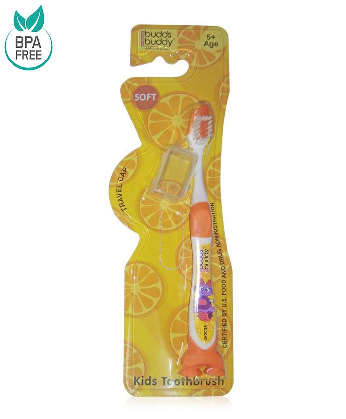 Buddsbuddy Chocita Design Tooth Brush - Orange
