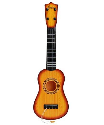 Magic Pitara Long Party Play Guitar Brown - Height 53 cm