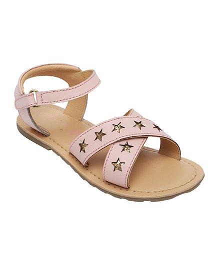 Aria Nica Cutwork Sandals - Pink