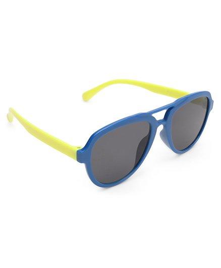Babyhug Classic Kids Sunglass - Blue & Yellow