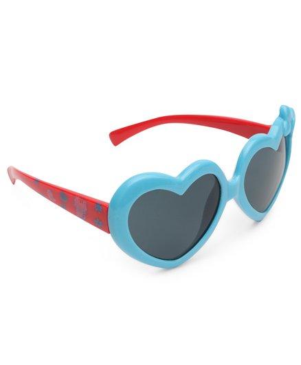 Babyhug Heart Shape UV 400 Sunglass - Blue & Red