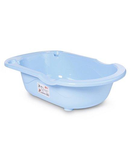 Rabbit Printed Baby Bath Tub - Blue