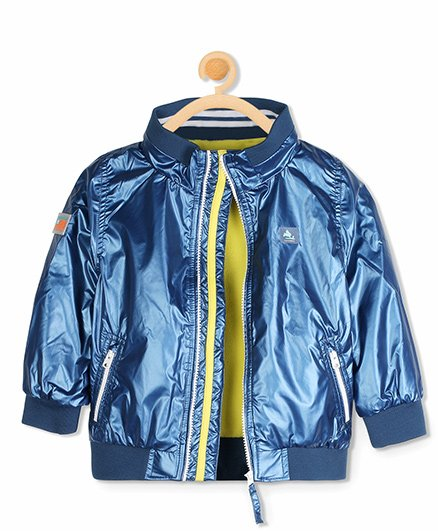 Cherry Crumble California The Rock Star Jacket - Blue