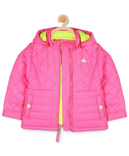 Cherry Crumble California Essential Quilted Jacket - Pink