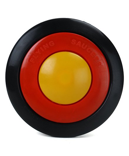Speedage Flying Saucer - Black Red Yellow