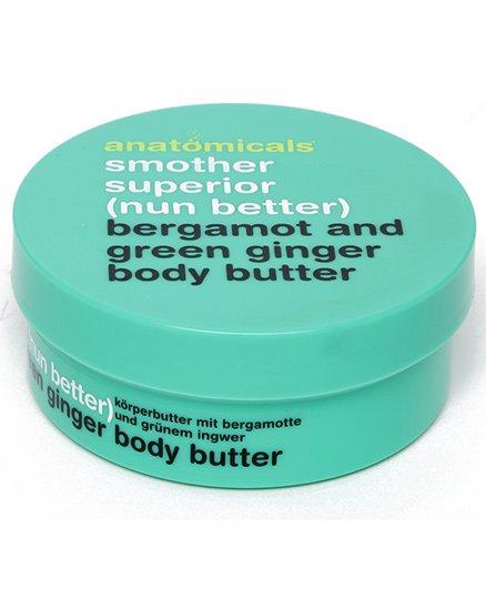 Anatomicals Bergamot and Green Ginger Body Butter - 200 ml