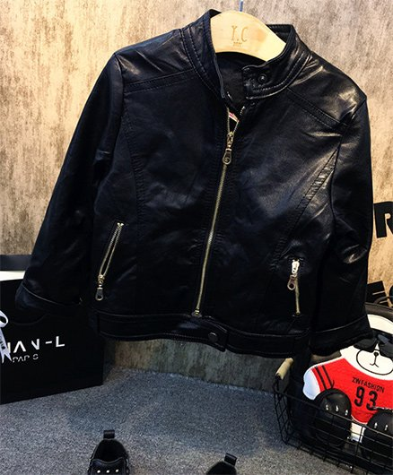 Pre Order - Awabox Biker Jacket - Black