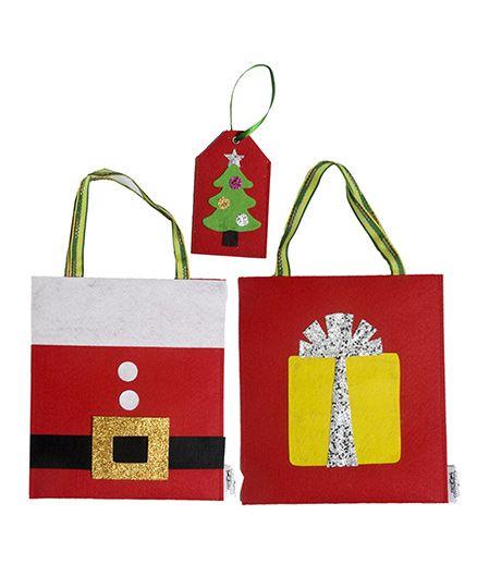 LiLl Pumpkins Santa Gift Bags & Tree Gift Tag - Multicolour