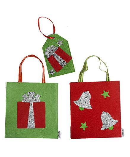 LiLl Pumpkins Gift Bags Bell Gift Bag & Gift Gift Tag - Multicolour