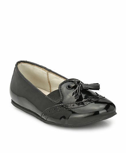 Tuskey Party Wear Loafers - Black