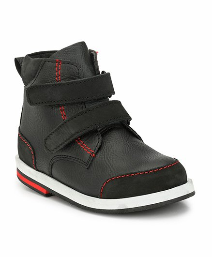Tuskey High Ankle Boots - Black