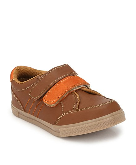 Tuskey Casual Shoes Slip On Style - Brown