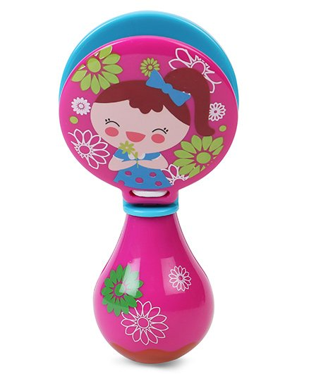 Sunny Orff Music Rattle - Pink Blue