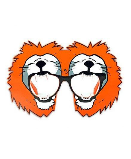 Funcart Lion Shaped Sunglasses - Orange
