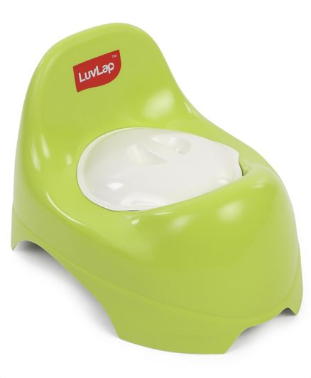 LuvLap Potty Trainer Chair With Lid - Green