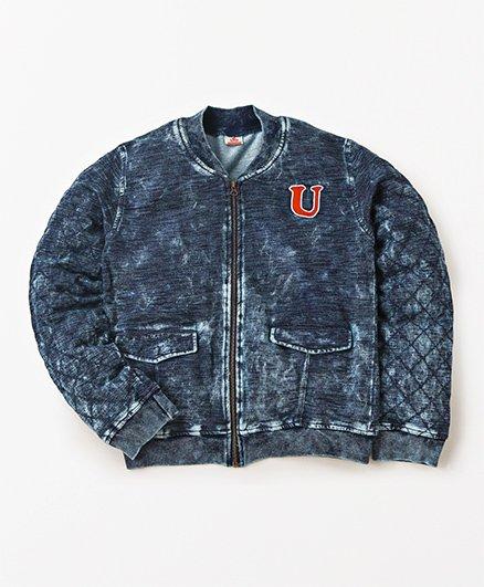 UFO Stylish Full Sleeves Jacket - Indigo Dark