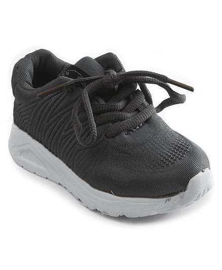 Cute Walk by Babyhug Sports Shoes - Dark Grey